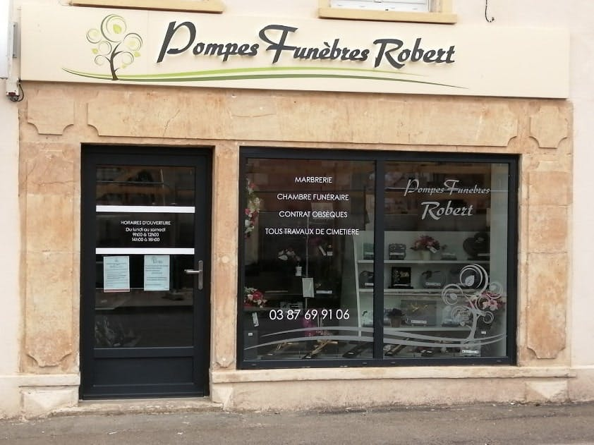 Photographies des Pompes Funèbres Robert à Novéant-sur-Moselle