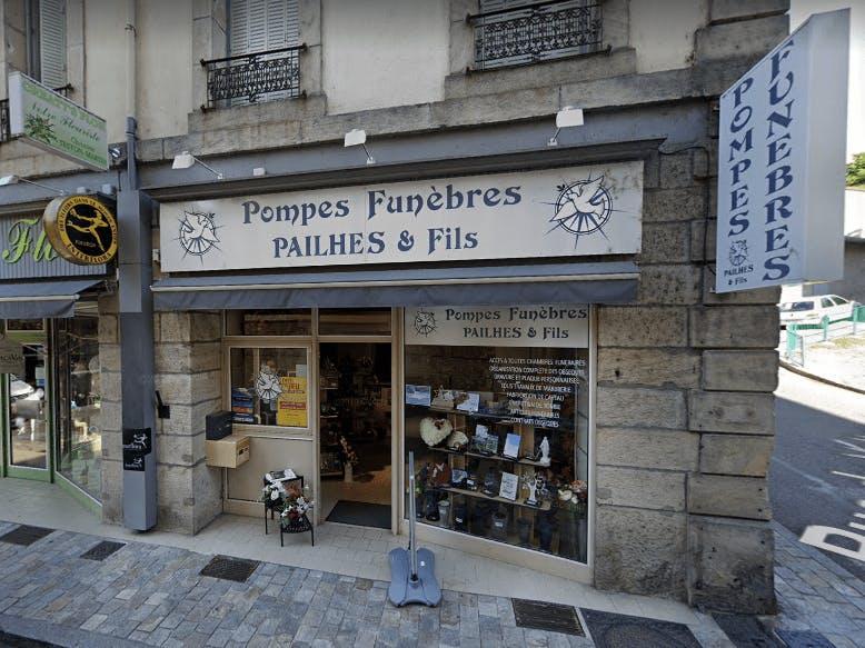 Photographie Pompes Funèbres Pailhès et Fils de Vals-les-Bains