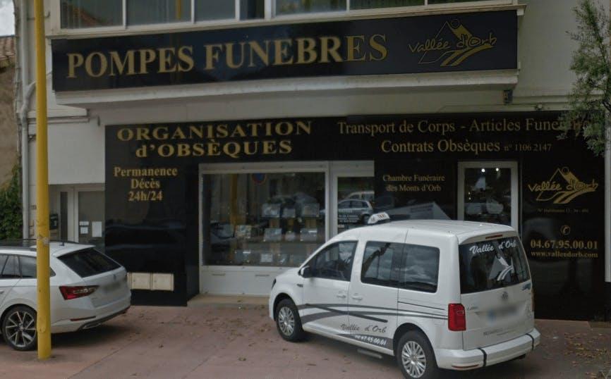 Photographie Pompes Funèbres Vallée d'Orb de Bédarieux