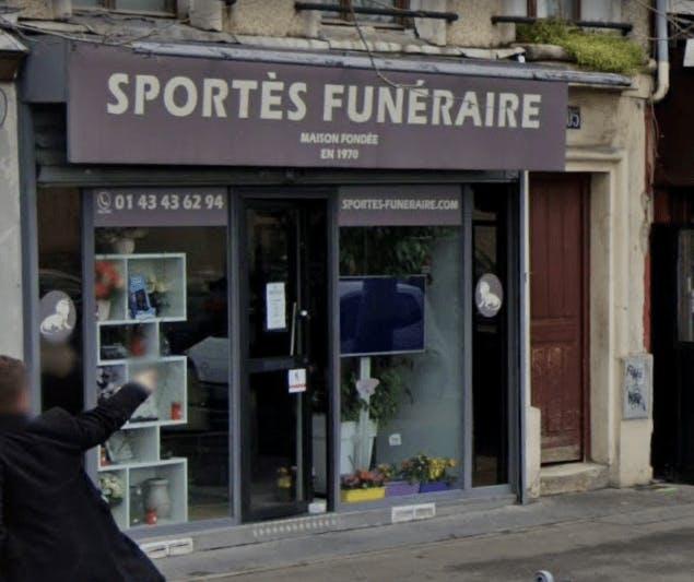 Photographie du Sportès Funéraire à Paris
