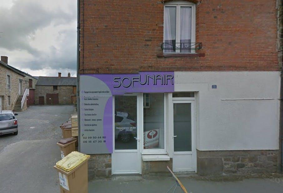 Photographies des Pompes Funèbres Sofunair à Sens-de-Bretagne