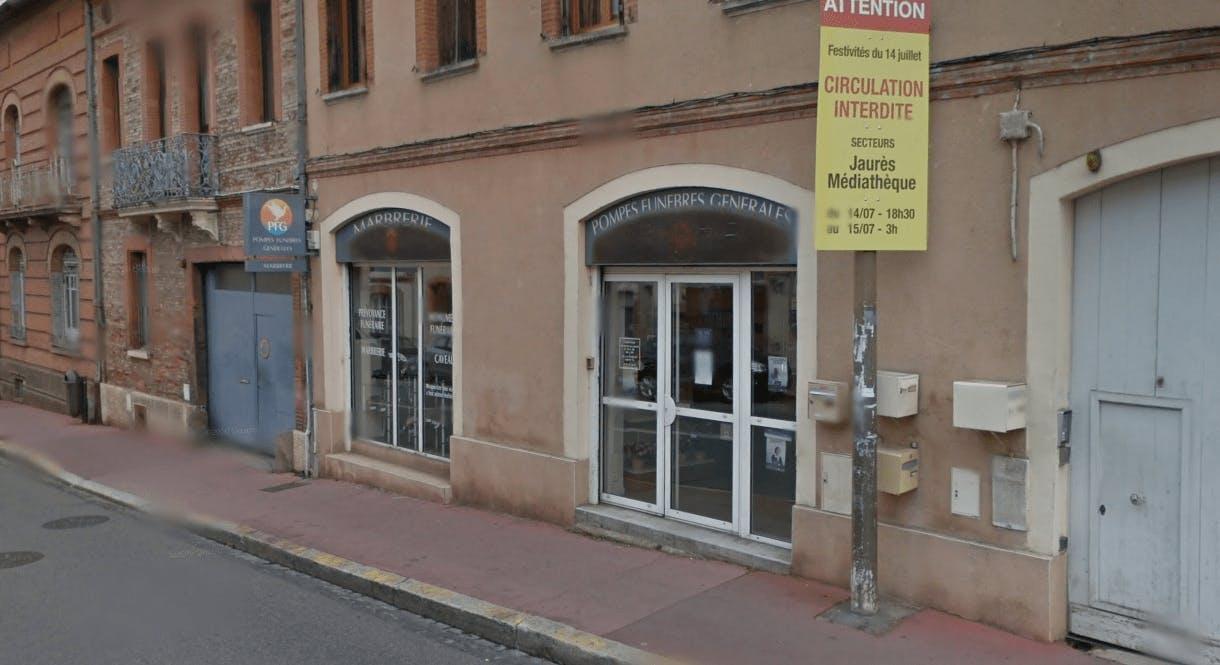 Photographie Pompes Funèbres Générales à Toulouse