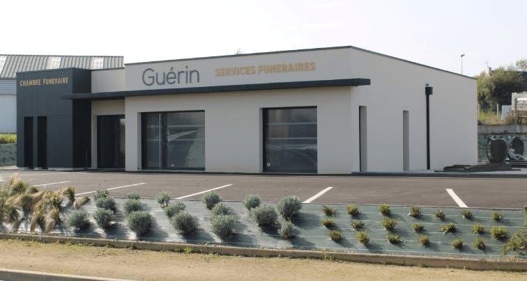 Photographie de la Pompes Funèbres Guerin à Bréhal