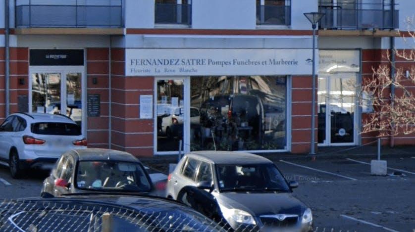 Photographie de la Pompes Funèbres et Marbrerie Fernandez Satre à Saint-Priest-en-Jarez