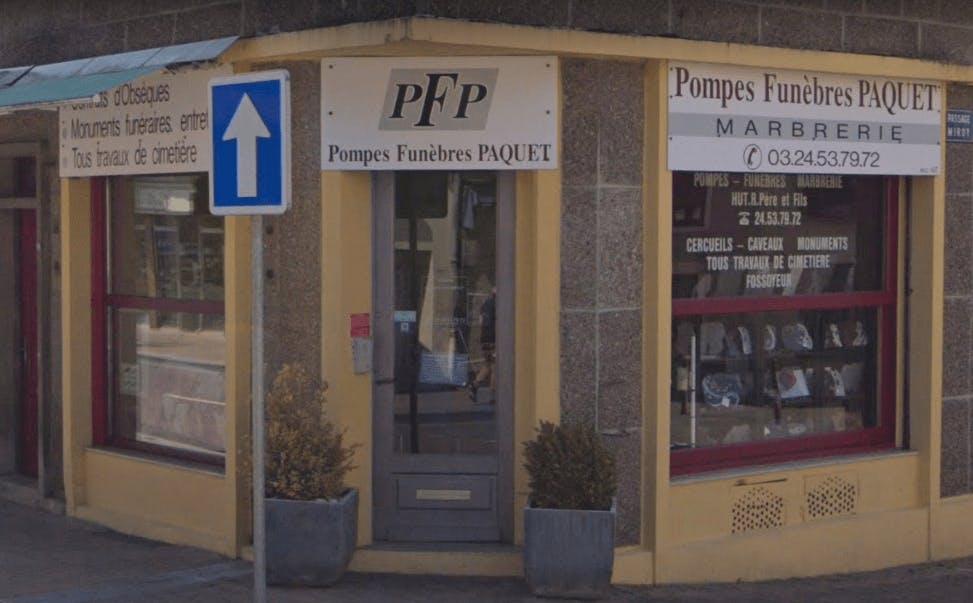 Photographie Pompes Funèbres PAQUET de Nouzonville
