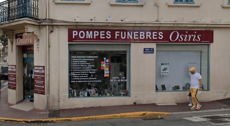 Photographie Pompes Funèbres Osiris - Maison Silva Le Cannet