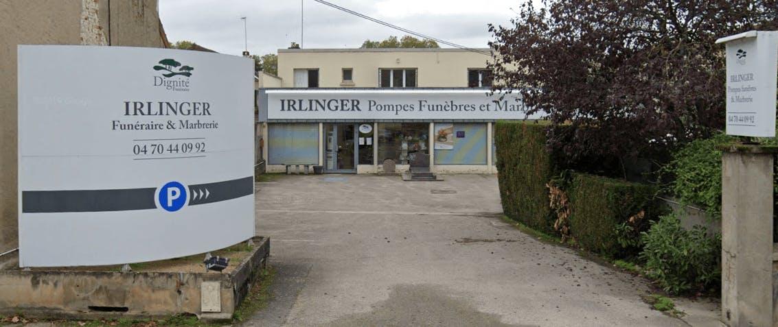 Photographie Pompes Funèbres et Marbrerie Irlinger de Moulins