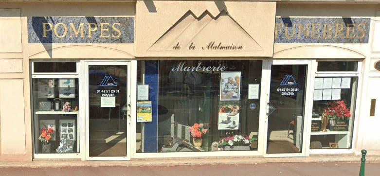 Photographie Pompes Funèbres de la Malmaison de Rueil-Malmaison