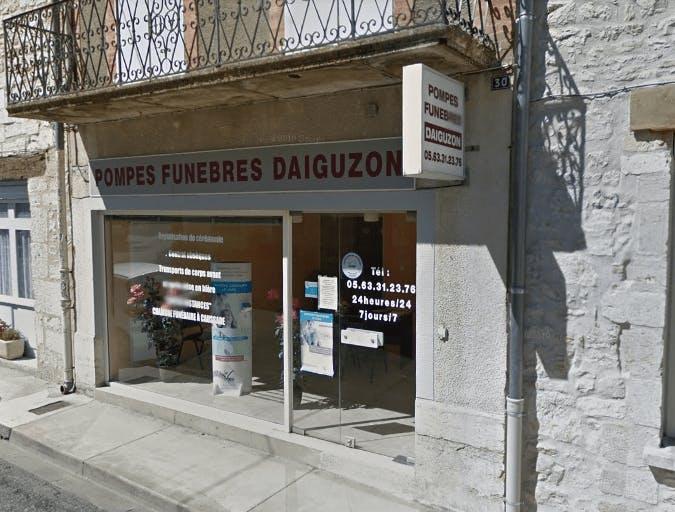 Photographie de la Pompes Funèbres Daiguizon et Fils à Septfonds
