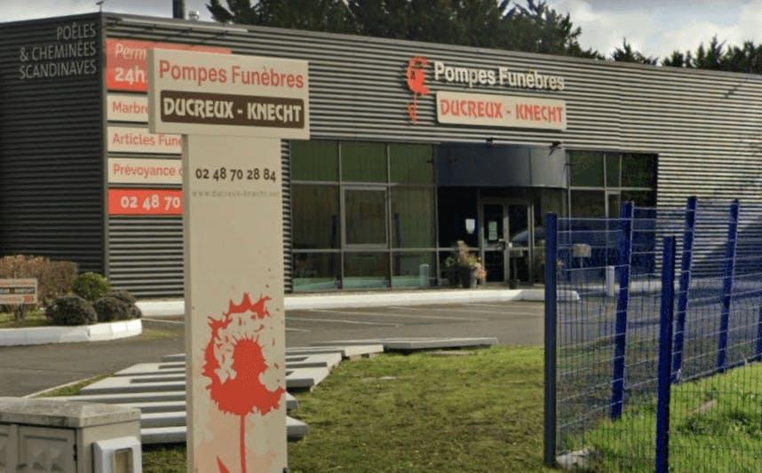 Photographie de la Pompes Funèbres Ducreux Knecht à Bourges