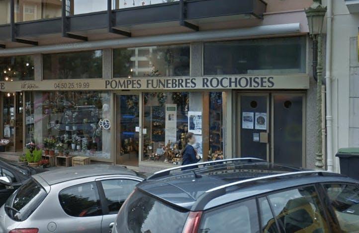 Photographie de la Pompes Funèbres Rochoises-Fleurs Perce-neige à Roche-sur-Foron