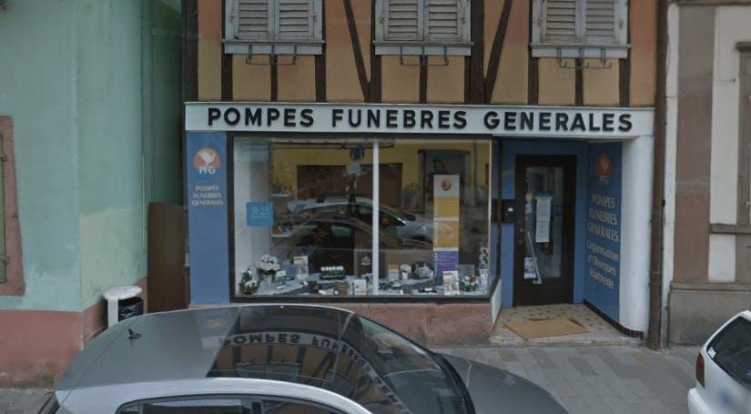 Photographie de la Pompes Funèbres Générales à Ribeauvillé