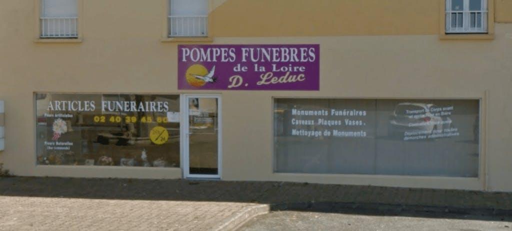 Photographie Pompes Funèbres et Marbrerie Brévinoises de Paimbœuf