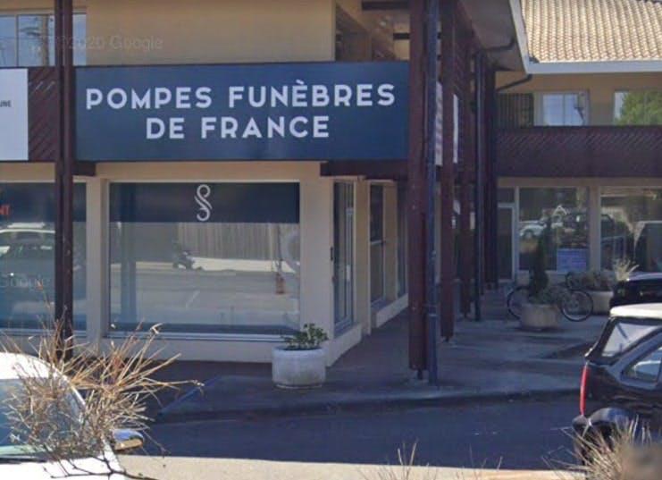 Photographie Pompes Funèbres de France de La Teste-de-Buch