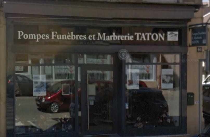 Photographie de Pompes Funèbres et Marbrerie Taton de la ville de Pont-de-Vaux