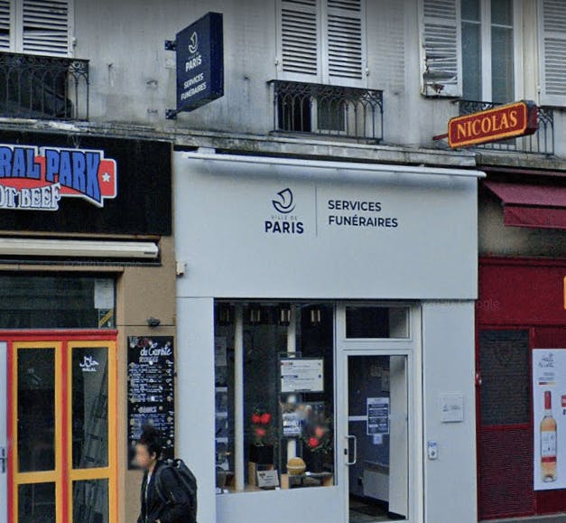 Photographie des Services Funéraires-Ville de Paris  à Paris