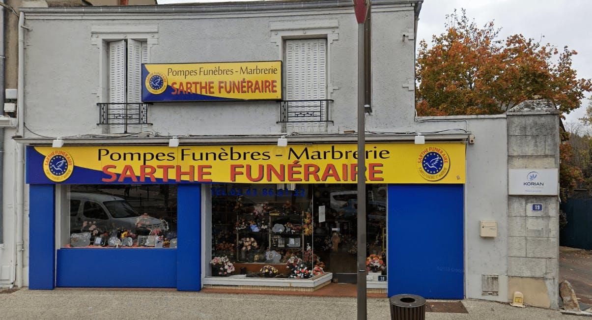 Photographie Sarthe Funéraire au Mans