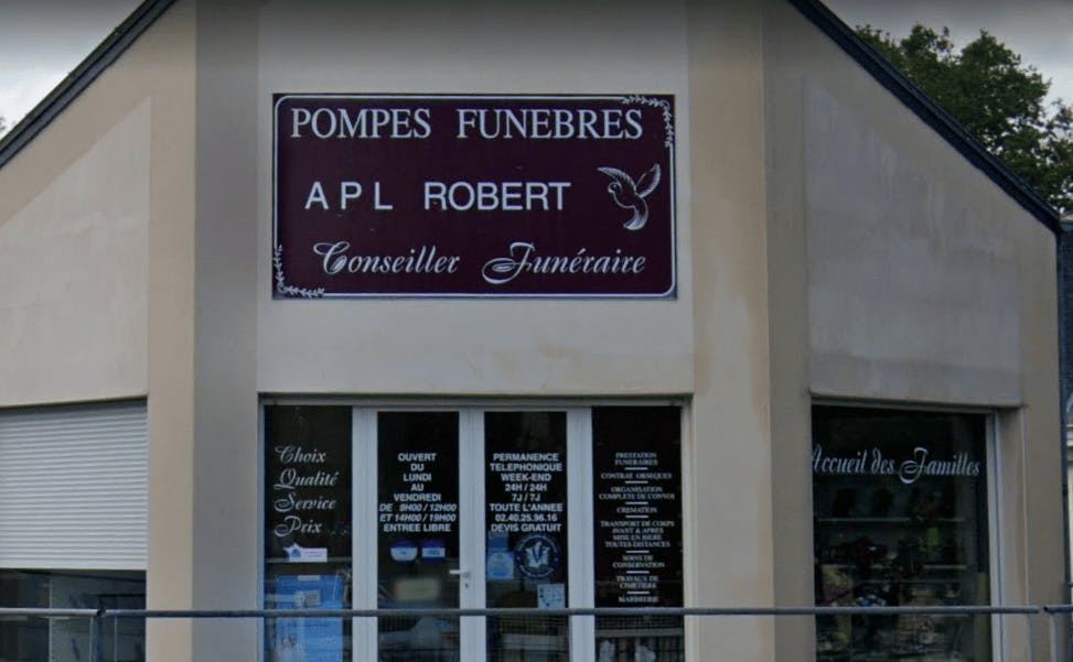 Photographie Pompes Funèbres APL Robert de Sainte-Luce-sur-Loire