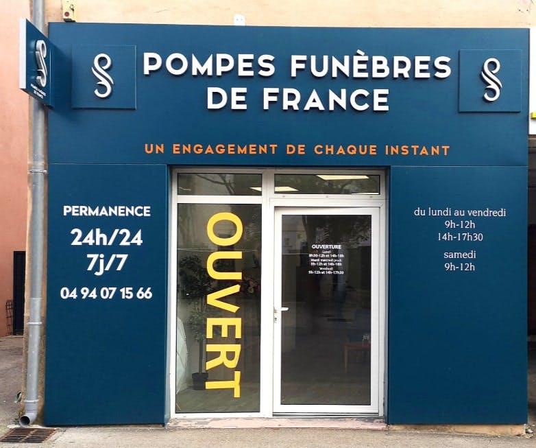 Photographie de Pompes funèbres de France de Saint-Cyr-sur-Mer