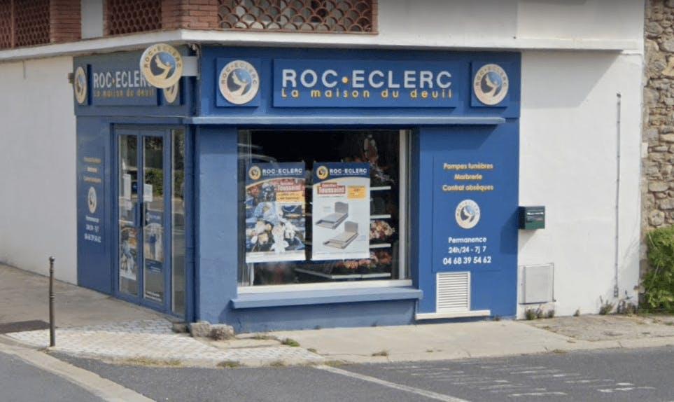 Photographie de la Pompes Funèbres ROC ECLERC à Céret