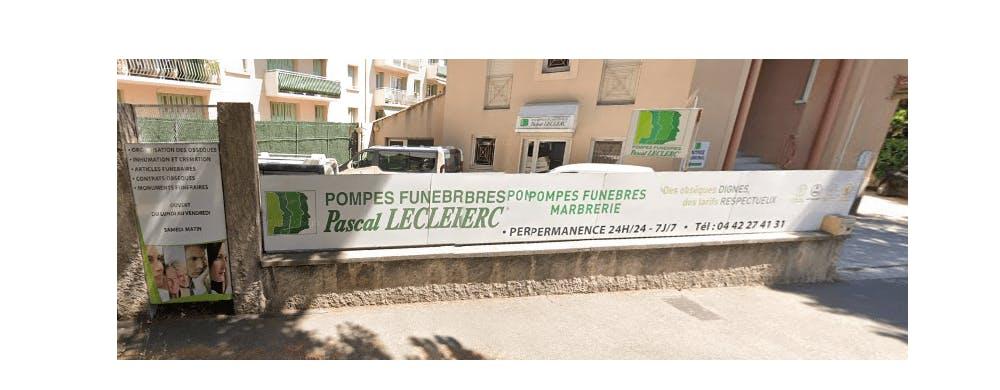 Photographie de la Pompes Funèbres et Marberie Accueil Funéraire  à Aix-en-Provence
