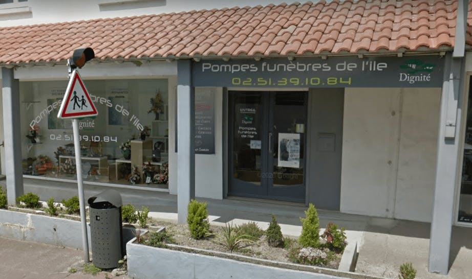Photographie Pompes Funèbres de l'île de Noirmoutier-en-l'Île