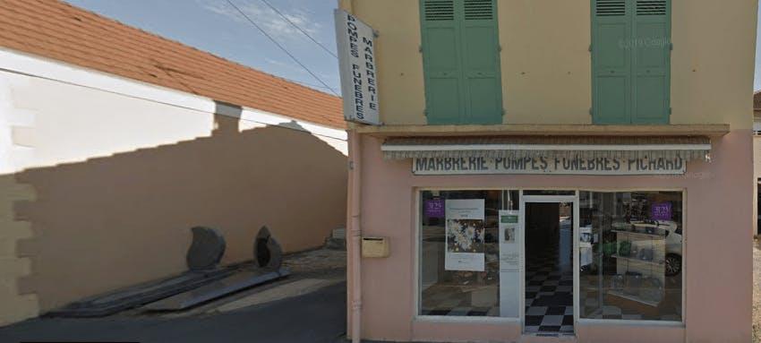 Photographie de la Pompes Funèbres et Marbrerie Pichard de la ville d Digoin