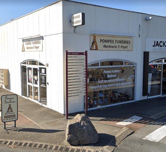 Photographie de la Pompes Funèbres Poyet à Civrieux-d'Azergues