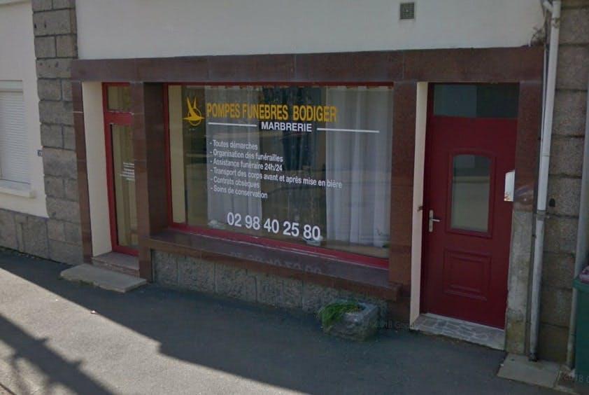 Photographies des Pompes Funèbres Marbrerie Bodiger à Plougastel-Daoulas