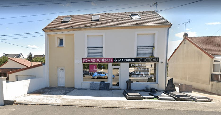 Photographie Choteau Pompes Funèbres Marbrerie de Conflans-Sainte-Honorine