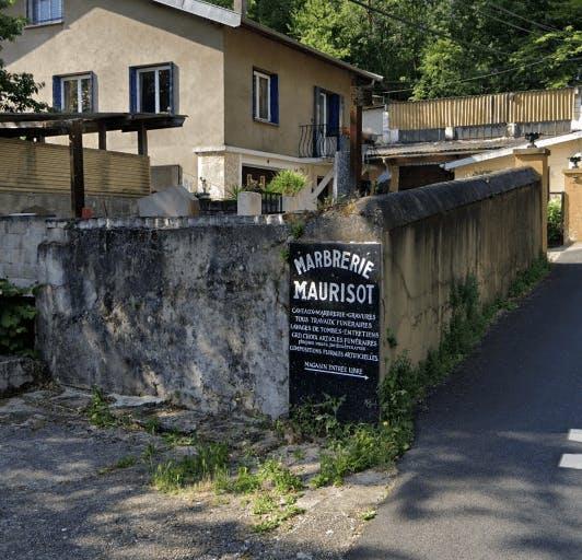 Photographie de la Marbrerie Fève Maurisot à Givors