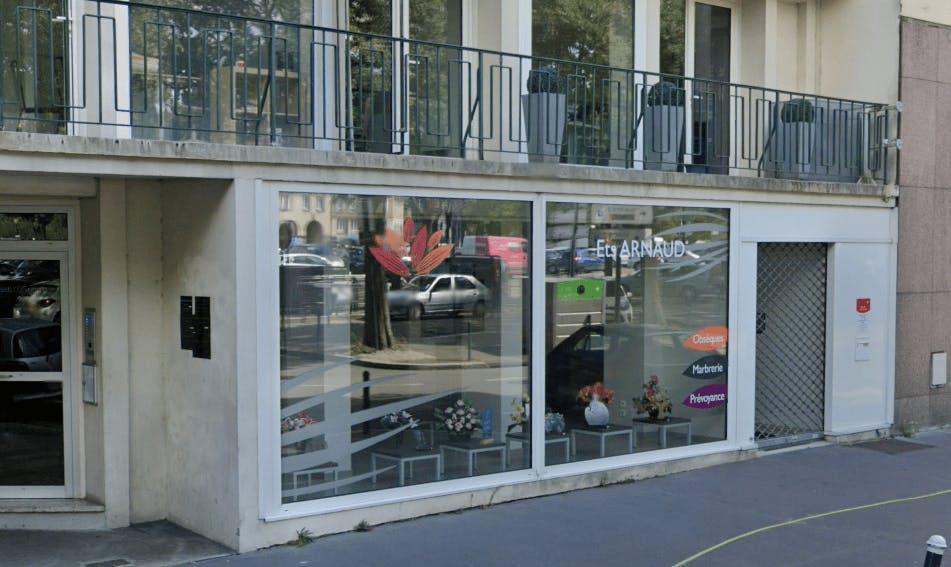 Photographie Pompes Funèbres Marbrerie ARNAUD à Nantes