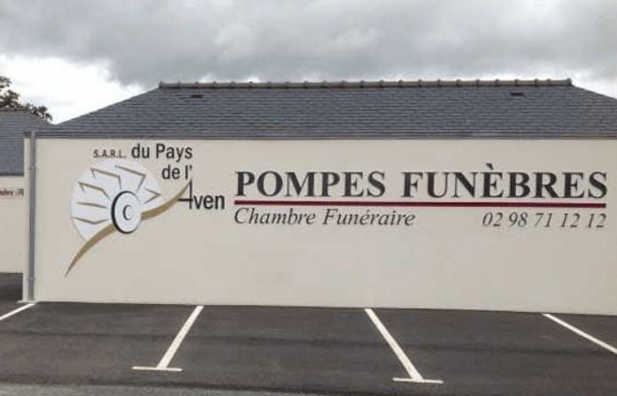 Photographie de la Pompes Funèbres du Pays de l'Aven à Pont-Aven