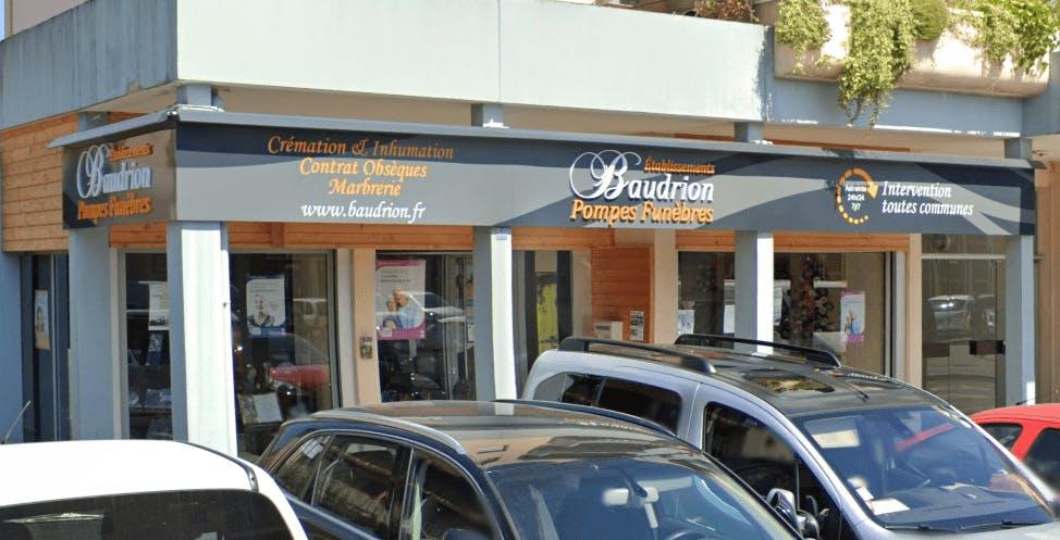 Photographie de la Pompes Funèbres Baudrian à Pontcharra