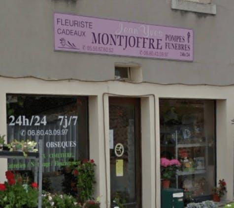 Photographie de la Pompes Funèbres MONTJOFFRE de la ville de Bellegarde-en-Marche