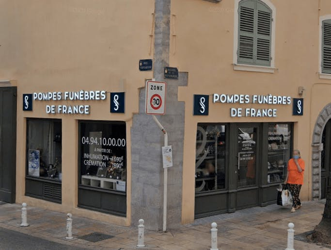 Photographie Pompes funèbres de France à Toulon