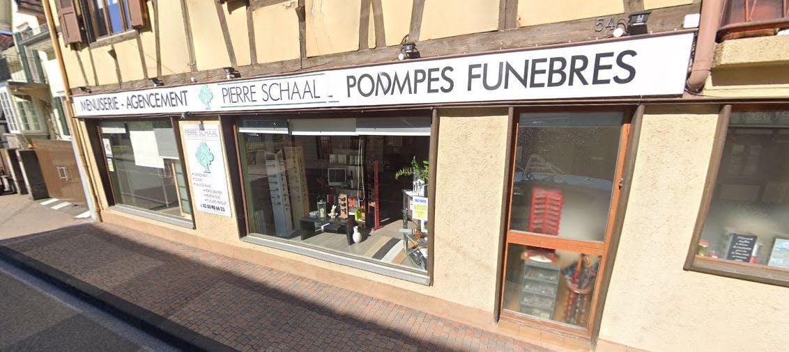 Photographie Pompes Funèbres Pierre Schaal Erstein