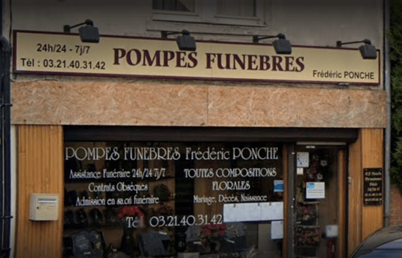 Photographie de la Pompes Funèbres Ponche Frédéric de la ville d'Hulluch