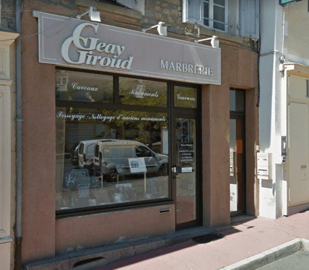 Photographie de la Marbrerie Geay Giroud  à Saint-Laurent-de-Chamousset
