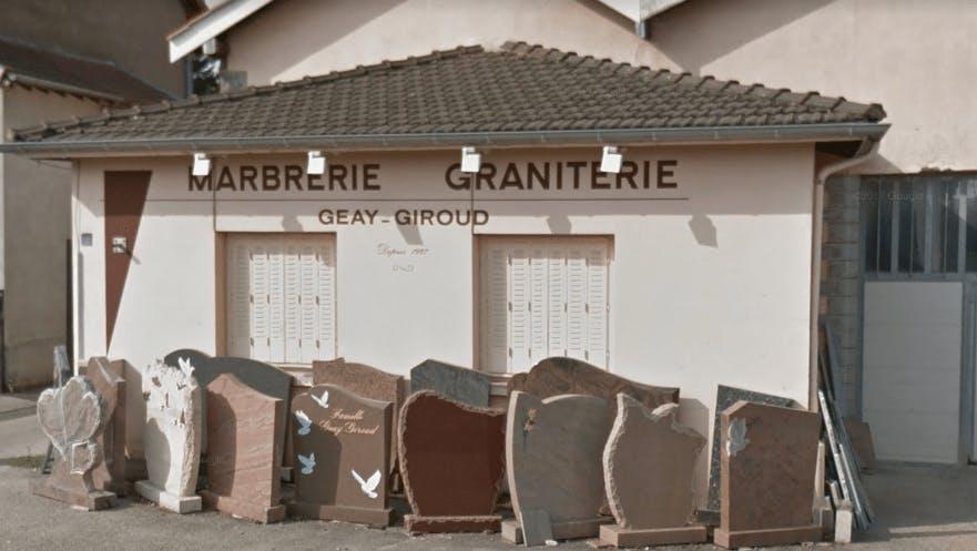 Photographie de la Marbrerie Geay Giroud à Saint-Martin-en-Haut
