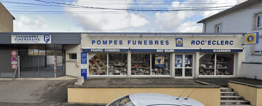 Photographie Pompes Funèbres Roc-Eclerc de Frouard