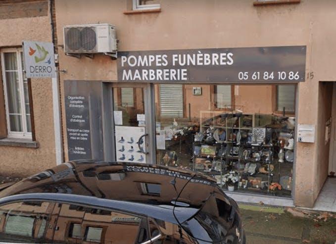 Photographie Pompes Funèbres DERRO de Bessières