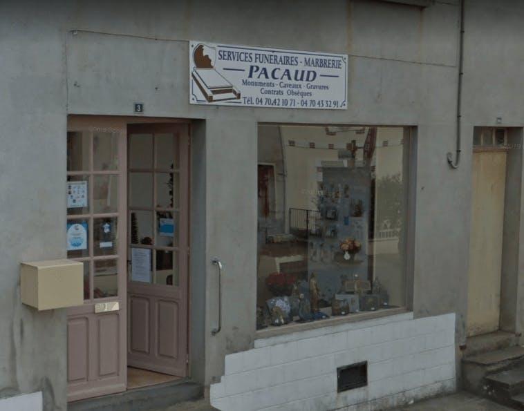 Photographie Pompes Funèbres Pacaud de Saint-Léon