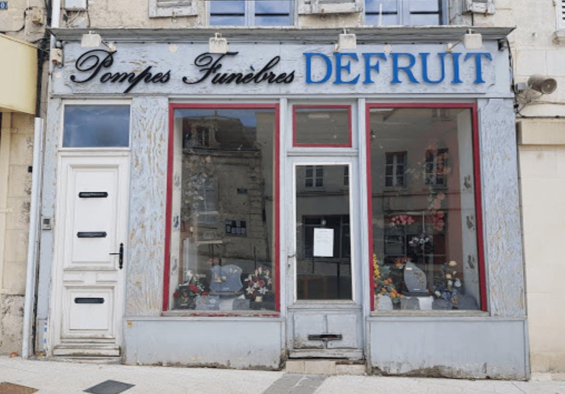 Photographie de la Pompes Funèbres Marbrerie Defruit de Villers-Cotterêts