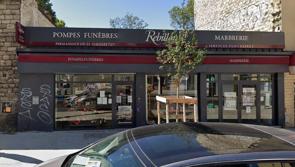 Photographies des Pompes Funèbres Marbrerie Rebillon à Ivry-sur-Seine
