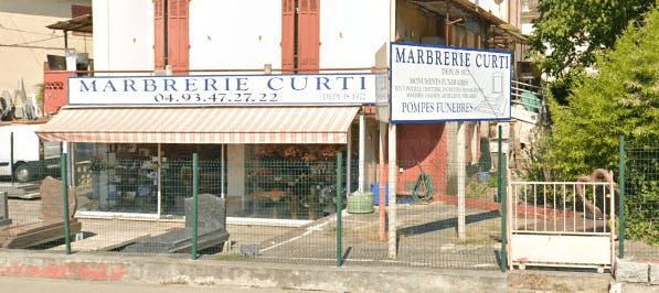 Photographie de la Marbrerie CURTI à Cannes