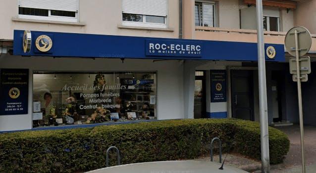 Photographie de la Pompes Funèbres ROC ECLERC à Colmar