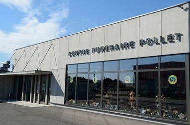 Photographie du Centre Funéraire POLLET de la ville de Saint-Rambert-d'Albon