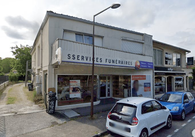 Photographie de la Pompes Funèbres Générales à Gradignan