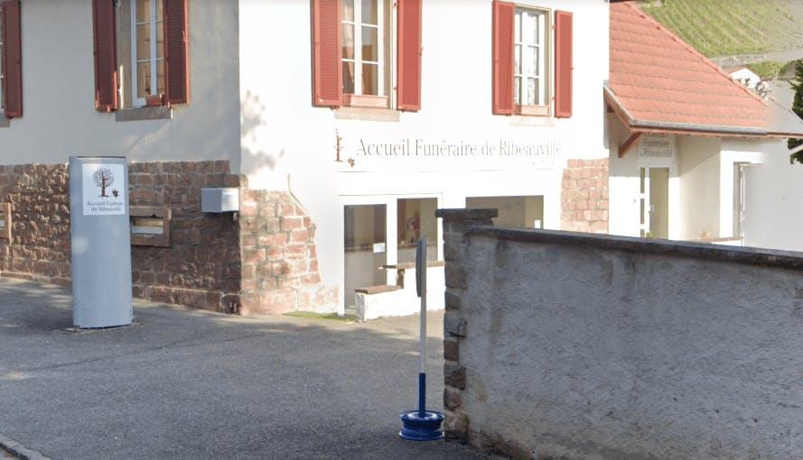 Photographie de l'Accueil Funéraire à Ribeauvillé